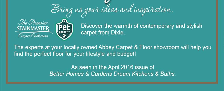 Discover the warmth of contemporary and stylish carpet from Dixie.