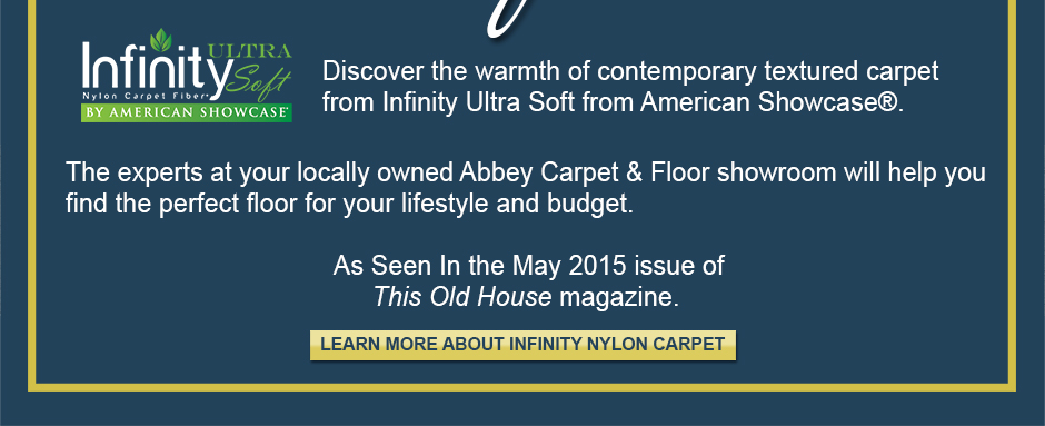 Discover the warmth of contemporary textured carpet from Infinity Ultra Soft from American Showcase®.